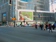 [STRICTLY PUBLIC], projekce videoartu na venovní LED obrazovce v Berlíně, 2004. Akce proběhla v rámci Transmediale 04 -Fly Utopia!