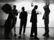 Scenes from the Trekhprudny gallery, Moscow in the 1990s.