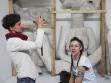 Installation, Šárka Mikesková and Marie Hladíková