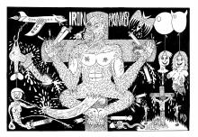 Mike Diana - Iron Monkey