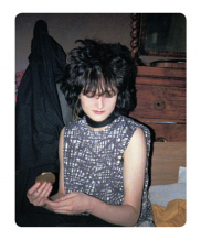 Simon Barker aka Six, Siouxsie – Wake-up to Make-up, St James Hotel
