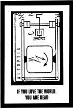Autopsia poster from Weltuntergang Show: If you love the world