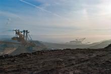 Ibra Ibrahimovic: Hnědouhelný povrchový důl Československé Armády - říjen 2008